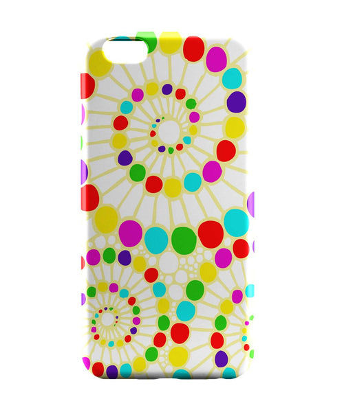iPhone 6 Case & iPhone 6S Case | Geometric Circle Art Pattern (White) iPhone 6 | iPhone 6S Case Online India | PosterGuy