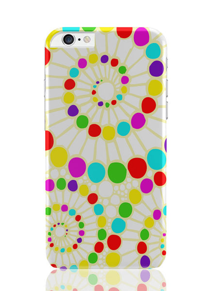 iPhone 6 Plus / 6S Plus Covers & Cases | Geometric Circle Art Pattern (White) iPhone 6 Plus / 6S Plus Covers and Cases Online India