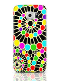 Samsung Galaxy S6 Covers & Cases | Geometric Circle Art Pattern (Black) Samsung Galaxy S6 Covers & Cases Online India