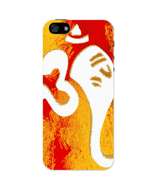 iPhone 5 / 5S Cases| Ganeshji In Om Art Illustration iPhone 5 / 5S Case 1443295117 Online India