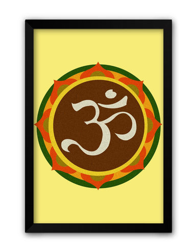 Framed Posters | Om Laminated Framed Poster Online India