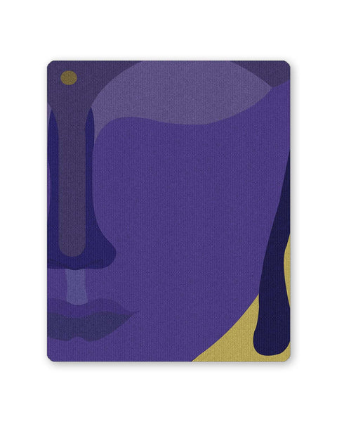 PosterGuy | Lord Buddha Blue Mouse Pad 1443315116 Online India
