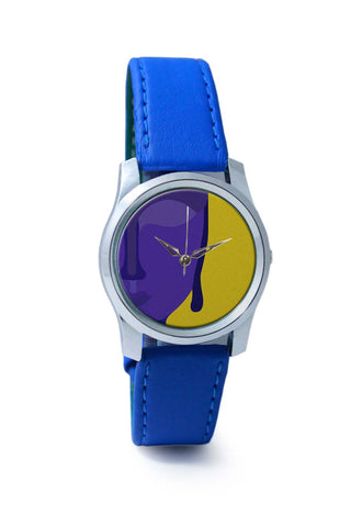 Women Wrist Watches India | Lord Buddha Blue Wrist Watch Online India