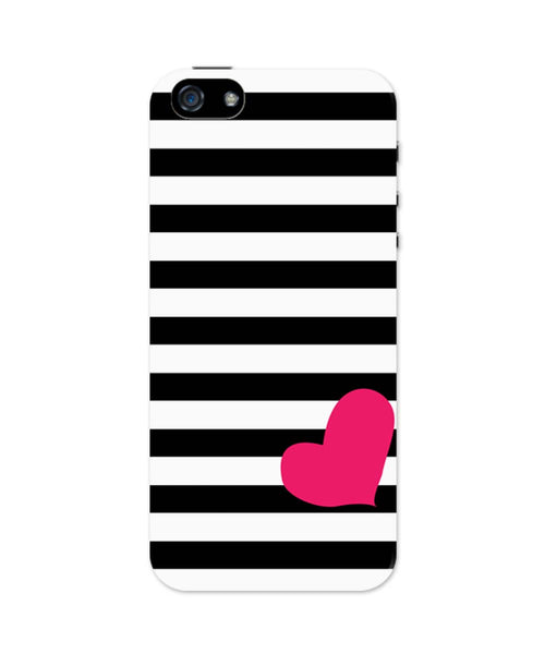 iPhone 5 / 5S Cases & Covers | Love Stripes Pattern iPhone 5 / 5S Case Online India