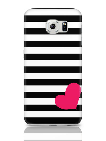 Samsung Galaxy S6 Covers & Cases | Love Stripes Pattern Samsung Galaxy S6 Covers & Cases Online India