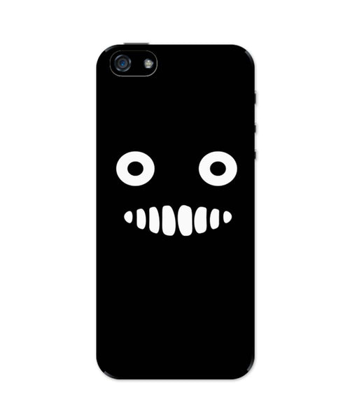 iPhone 5 / 5S Cases & Covers | Cute Monster Funny Tooth iPhone 5 / 5S Case Online India