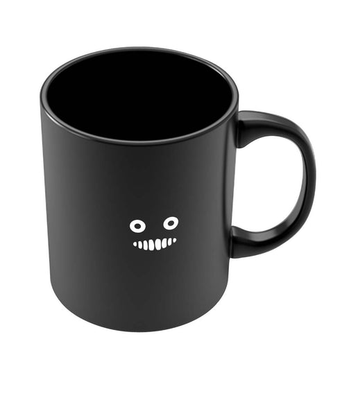 Coffee Mugs Online | Cute Monster Funny Tooth Black Coffee Mug Online India