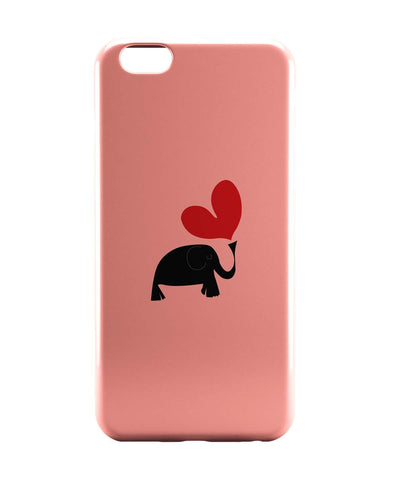 iPhone 6 Case & iPhone 6S Case | The Pink Elephant Minimalist Art iPhone 6 | iPhone 6S Case Online India | PosterGuy