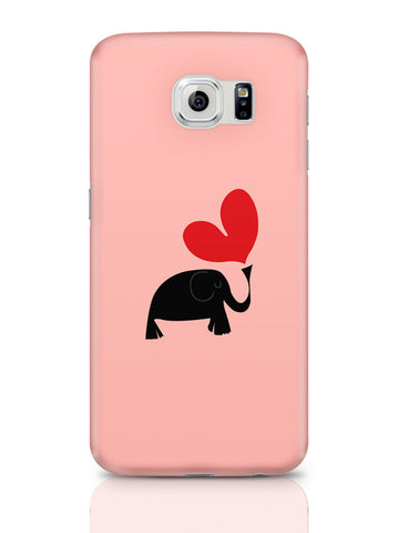 Samsung Galaxy S6 Covers & Cases | The Pink Elephant Minimalist Art Samsung Galaxy S6 Covers & Cases Online India
