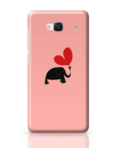 Xiaomi Redmi 2 / Redmi 2 Prime Cover| The Pink Elephant Minimalist Art Redmi 2 / Redmi 2 Prime Cover Online India