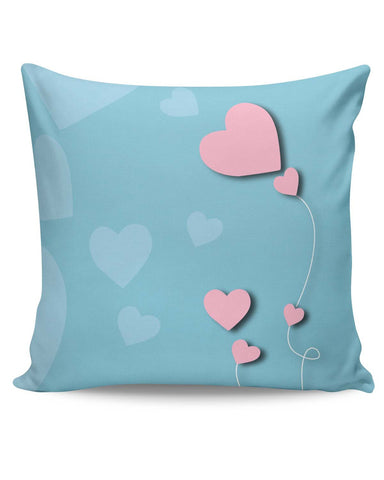 PosterGuy | The Heart String Cushion Cover Online India