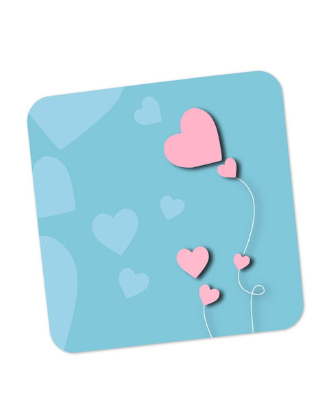 Buy Coasters Online | The Heart String Coaster Online India | PosterGuy.in