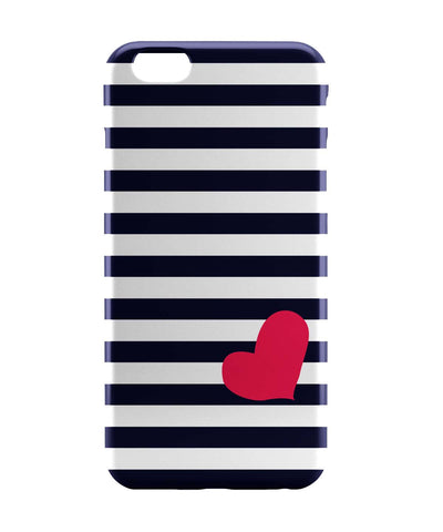 iPhone 6 Case & iPhone 6S Case | Love Strip Pattern(Blue) iPhone 6 | iPhone 6S Case Online India | PosterGuy