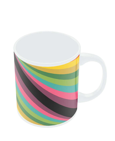 Coffee Mugs Online | Abstract Art Pattern Multicolored Mug Online India