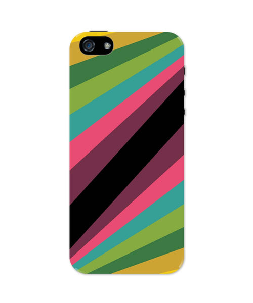 iPhone 5 / 5S Cases & Covers | Abstract Art Pattern Multicolored iPhone 5 / 5S Case Online India