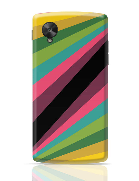 Google Nexus 5 Covers | Abstract Art Pattern Multicolored Google Nexus 5 Cover Online India