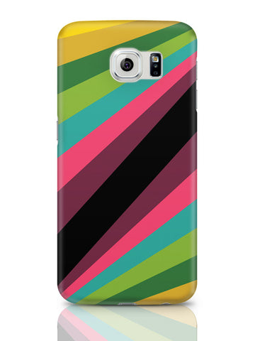 Samsung Galaxy S6 Covers & Cases | Abstract Art Pattern Multicolored Samsung Galaxy S6 Covers & Cases Online India