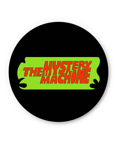 PosterGuy | The Mystery Machine (Black) Fridge Magnet Online India by Shweta Paryani