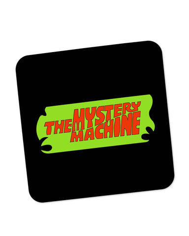 Buy Coasters Online | The Mystery Machine (Black) Coaster Online India | PosterGuy.in