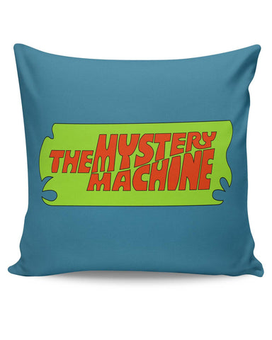 PosterGuy | The Mystery Machine (Blue) Cushion Cover Online India