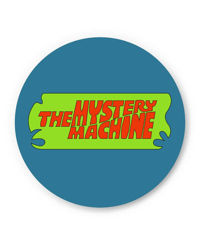 PosterGuy | The Mystery Machine (Blue) Fridge Magnet Online India by Shweta Paryani