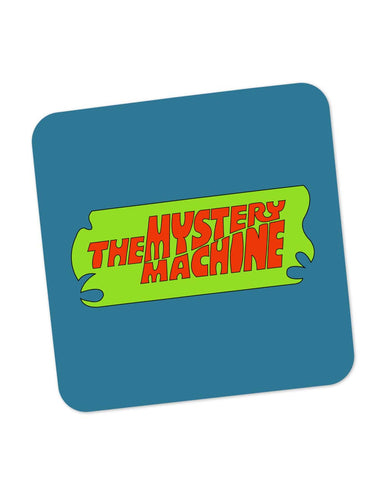 Buy Coasters Online | The Mystery Machine (Blue) Coaster Online India | PosterGuy.in