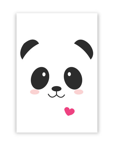 Posters Online | Cute Panda Minimalist Poster Online India | Designed by: Shweta Paryani