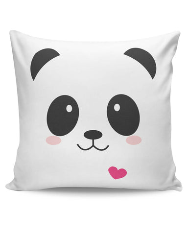 PosterGuy | Cute Panda Minimalist Cushion Cover Online India