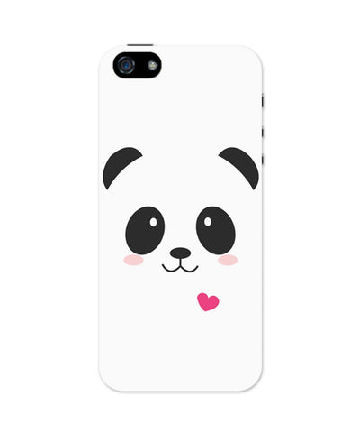 iPhone 5 / 5S Cases & Covers | Cute Panda Minimalist iPhone 5 / 5S Case Online India