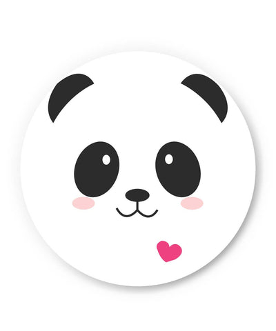 PosterGuy | Cute Panda Minimalist Fridge Magnet Online India by Shweta Paryani