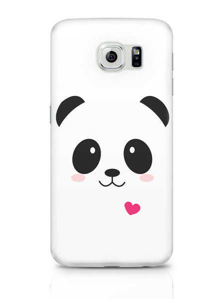 Samsung Galaxy S6 Covers & Cases | Cute Panda Minimalist Samsung Galaxy S6 Covers & Cases Online India