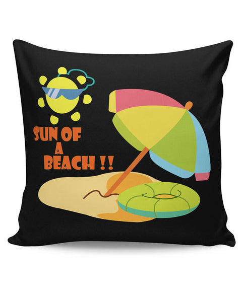 PosterGuy | Sun Of A Beach Cushion Cover Online India