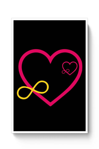 Posters Online | Love Infinity Poster Online India | Designed by: Shweta Paryani