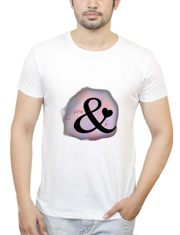 Buy You & I T-Shirts Online India | You & I T-Shirt | PosterGuy.in