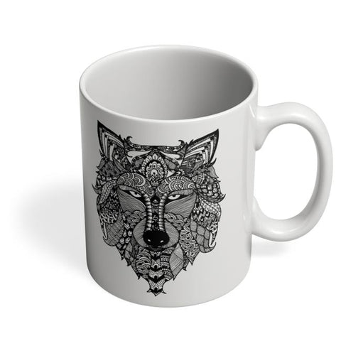 Coffee Mugs Online | Zen Wolf Coffee Mug Online India