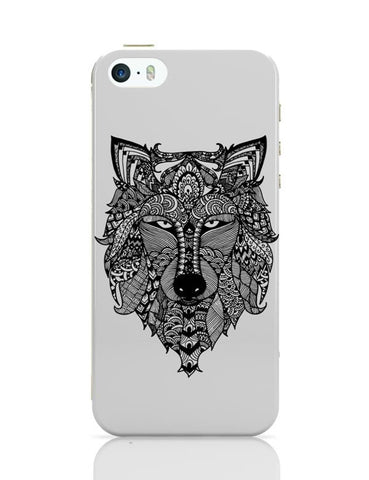 iPhone 5 / 5S Cases & Covers | Zen Wolf iPhone 5 / 5S Case Cover Online India