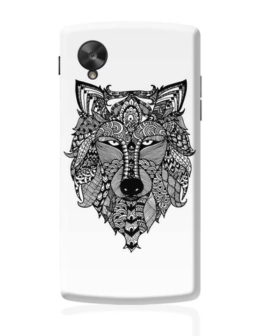 Google Nexus 5 Covers | Zen Wolf Google Nexus 5 Case Cover Online India