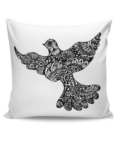 PosterGuy | Freedom Zen Bird Cushion Cover Online India