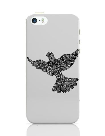 iPhone 5 / 5S Cases & Covers | Freedom Zen Bird iPhone 5 / 5S Case Cover Online India
