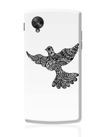 Google Nexus 5 Covers | Freedom Zen Bird Google Nexus 5 Case Cover Online India