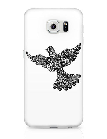 Samsung Galaxy S6 Covers | Freedom Zen Bird Samsung Galaxy S6 Case Covers Online India