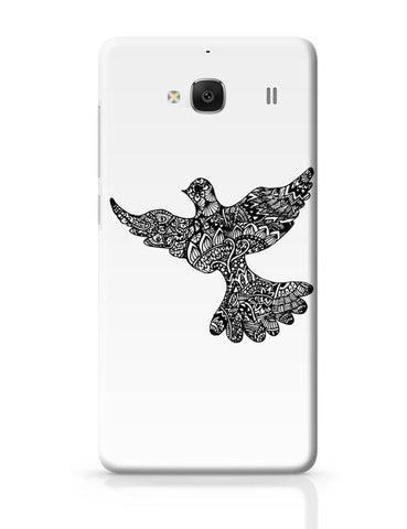 Xiaomi Redmi 2 / Redmi 2 Prime Cover| Freedom Zen Bird Redmi 2 / Redmi 2 Prime Case Cover Online India