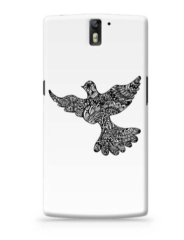 OnePlus One Covers | Freedom Zen Bird OnePlus One Case Cover Online India