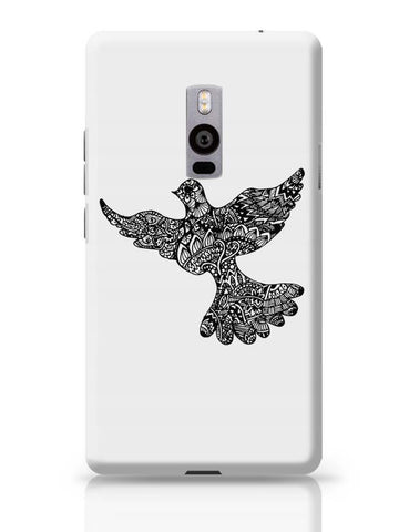 OnePlus Two Covers | Freedom Zen Bird OnePlus Two Case Cover Online India