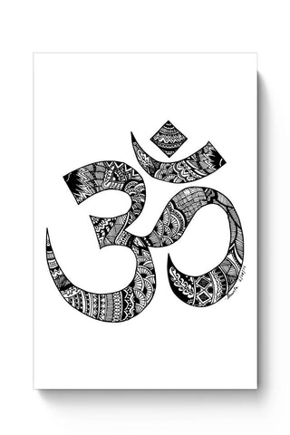 Posters Online | Zen Om Poster Online India | Designed by: Shweta Paryani