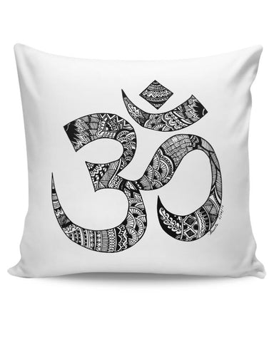 PosterGuy | Zen Om Cushion Cover Online India