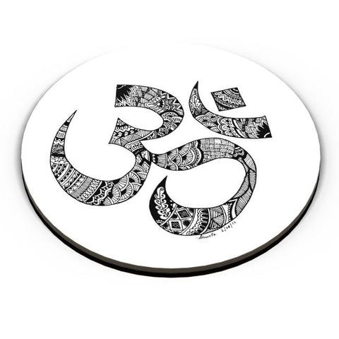 PosterGuy | Zen Om Fridge Magnet Online India by Shweta Paryani