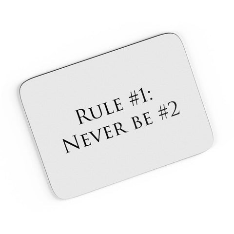 Rule No. 1 A4 Mousepad Online India