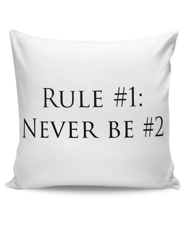 PosterGuy | Rule No. 1 Cushion Cover Online India