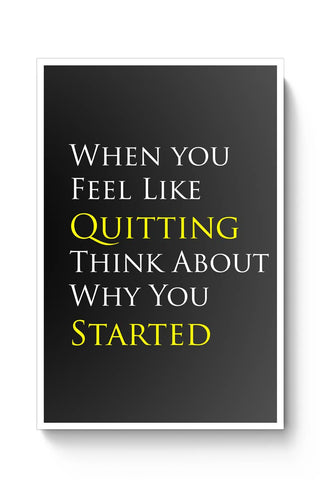 Don'T Quit Poster Online India